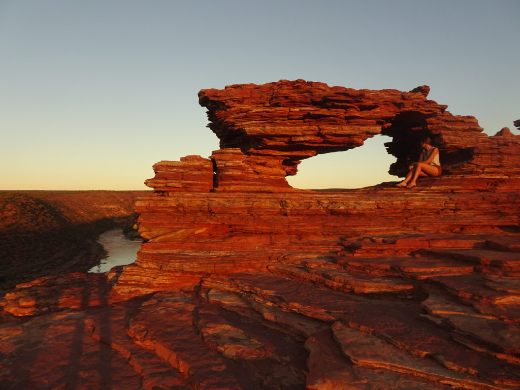Nature's Window in Kalbarri National Park, Western Australia