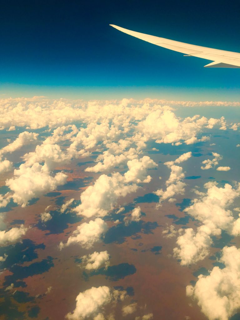 Sorvolando il Western Australia