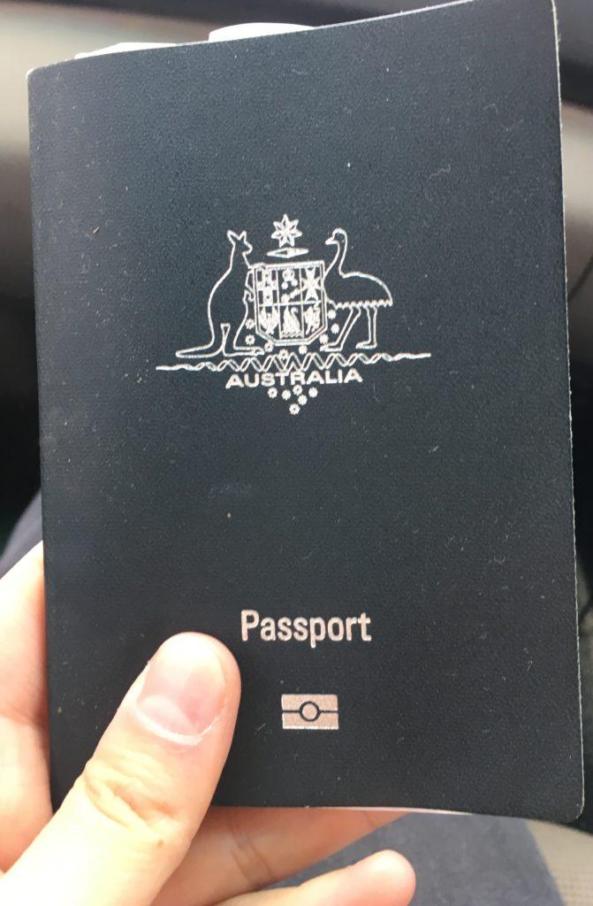 Passaporto, un giorno avrò anche io quello australiano!